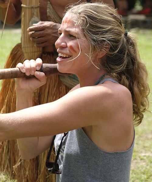 kawsay-ayahuasca-retreat-guest-indians-blowgun
